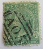 Poštovní známka Bahamy 1875 Královna Viktorie Mi# 8 A Kat 460€