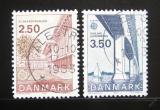 Poštovní známky Dánsko 1983 Evropa CEPT Mi# 781-82