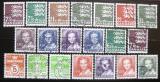 Poštovní známky Dánsko 1986-90 Různé motivy SC# 793-803, 806-10, 812-15
