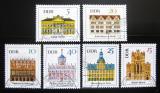 Poštovní známky DDR 1967 Slavné budovy Mi# 1245-50