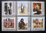 Poštovní známky DDR 1969 Ruské umění Mi# 1528-33
