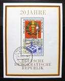 Poštovní známka DDR 1969 Výročí vzniku republiky Mi# Block 28