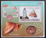 Poštovní známka Komory 2009 Maják a škeble neperf. Mi# 2088 B