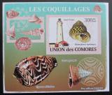 Poštovní známka Komory 2009 Maják a škeble neperf. Mi# 2089 B