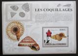 Poštovní známka Komory 2009 Maják a škeble Mi# Block 470