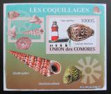 Poštovní známka Komory 2009 Maják a škeble neperf. Mi# 2091 B