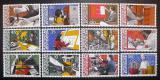 Poštovní známky Lichtenštejnsko 1984 Profese Mi# 849-60 Kat 13€