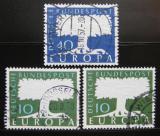 Poštovní známky Německo 1957-58 Evropa CEPT Mi# 268-69,294