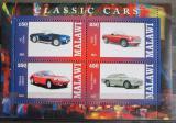 Poštovní známky Malawi 2013 Klasické automobily