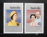 Poštovní známky Austrálie 1977 Vláda Alžběty II. Mi# 630-31
