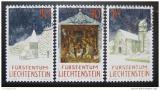 Poštovní známky Lichtenštejnsko 1992 Vánoce Mi# 1050-52