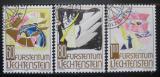 Poštovní známky Lichtenštejnsko 1994 Moderní umění Mi# 1096-98
