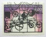 Poštovní známka Lichtenštejnsko 1995 Umění, Jean Tinguely Mi# 1084