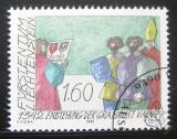 Poštovní známka Lichtenštejnsko 1992 Vznik Vaduzu Mi# 1049