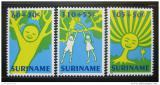 Poštovní známky Surinam 1992 Dětské kresby Mi# 1426-28