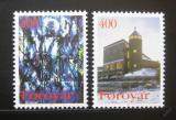 Poštovní známky Faerské ostrovy 1995 Kostel Marie Mi# 289-90