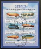 Poštovní známky Mosambik 2013 Vzducholodě Mi# 6574-79