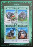 Poštovní známky Mosambik 2014 Medvědi Mi# 7345-48