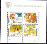 Poštovní známky Portugalsko 1979 Mezinárodní rok dětí Mi# Block 28