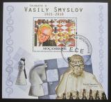 Poštovní známka Mosambik 2010 Šachy, Vasilij Smyslov Mi# Bl 398
