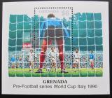 Poštovní známka Grenada 1989 MS ve fotbale Mi# Block 223