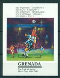 Poštovní známka Grenada 1990 MS ve fotbale Mi# Block 261