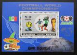 Poštovní známka KLDR 1986 MS ve fotbale Mi# Block 213