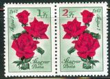 Poštovní známky Maďarsko 1961 Den práce, květiny Mi# 1755-56