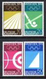 Poštovní známky Německo 1969 LOH Mnichov Mi# 587-90