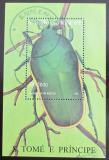 Poštovní známka Svatý Tomáš 1996 Brouk Mi# Block 359