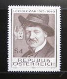 Poštovní známka Rakousko 1973 Leo Slezak, operní pěvec Mi# 1419