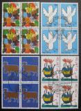 Poštovní známky Švýcarsko 1996 Designy známek, čtyřbloky Mi# 1593-96 Kat 22€