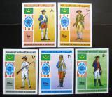 Poštovní známky Mauritánie 1976 Vojenské uniformy neperf. Mi# 528-33 B