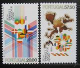 Poštovní známky Portugalsko 1986 Vstup do EU Mi# 1677-78