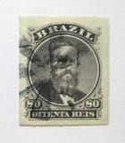 Poštovní známka Brazílie 1877 Don Pedro Mi# 33 Kat 30€