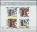 Poštovní známky Portugalsko 1978 Evropa CEPT Mi# Block 23 Kat 22€