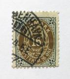 Poštovní známka Dánsko 1895 Královský znak Mi# 27 I Y B b