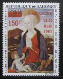 Poštovní známka Dahomey 1967 Madona přetisk Mi# 324