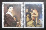 Poštovní známky Dahomey 1967 Umění, Ingres Mi# 307-08