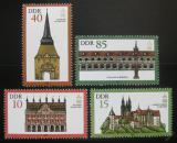 Poštovní známky DDR 1984 Architektura Mi# 2869-72