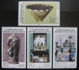 Poštovní známky DDR 1987 Výstava umění Mi# 3124-27