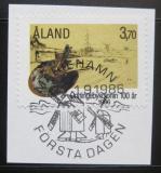 Poštovní známka Alandy 1986 Umělecká kolonie Mi# 19