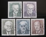 Poštovní známky DDR 1982 Osobnosti Mi# 2686-90