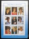 Poštovní známky Benin 1998 Princezna Diana Mi# 1031-39 Kat 15€