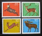 Poštovní známky Německo 1966 Fauna Mi# 511-14