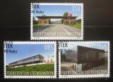 Poštovní známky Lichtenštejnsko 2009 Architektura Mi# 1533-35