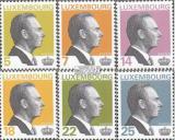 Poštovní známky Lucembursko 1993 Velkovévoda Jean Mi# 1310-15