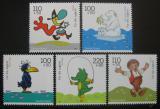 Poštovní známky Německo 1999 Karikatury Mi# 2055-59