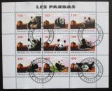 Poštovní známky Pobřeží Slonoviny 2009 Medvědi, Pandy