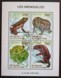 Poštovní známky Pobřeží Slonoviny 2014 Žáby Mi# 1514-17